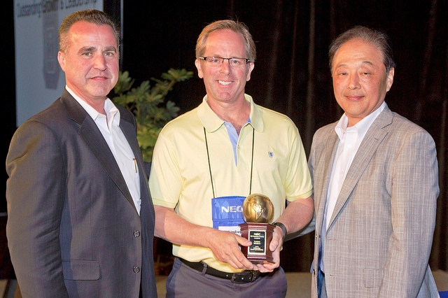 Luminet Honoured For Sales Leadership